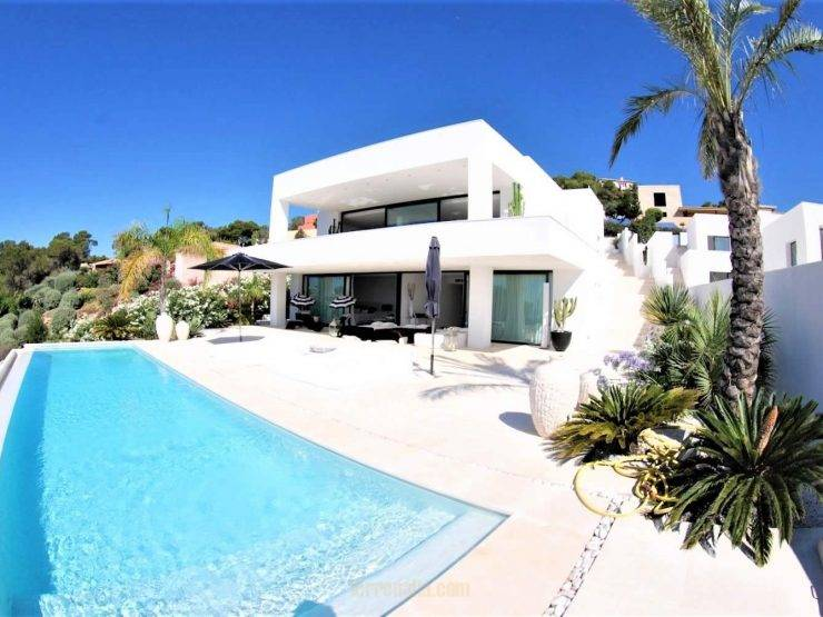 Stunning Luxury Villa, Vista Alegre, for Sale in Es Cubells, Ibiza
