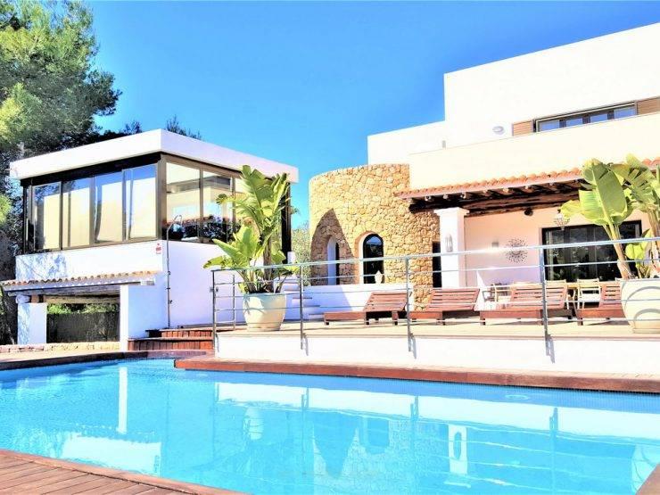 Villa Can Garrey, de 7 dormitorios en Venta en Santa Eulalia, Ibiza