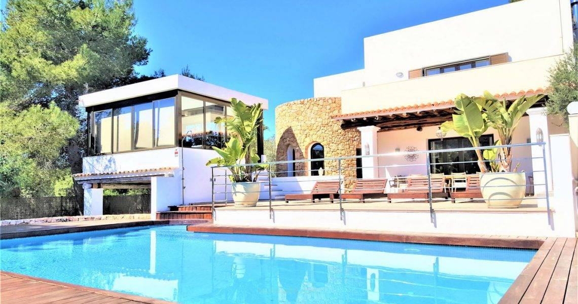 Villa Can Garrey, de 7 dormitorios en Alquiler en Santa Eulalia, Ibiza