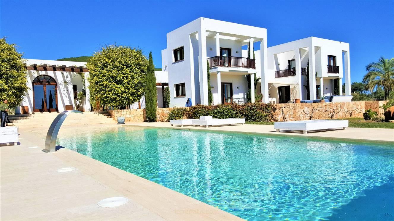 Modern Villa for Rent Feng Shui in San Carlos Ibiza