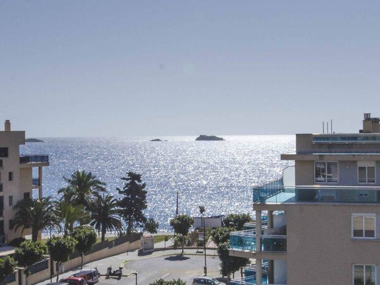 Beautiful Penthouse in Playa d'en Bossa for Sale Ibiza