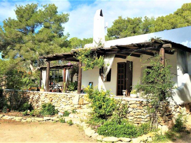 Beautiful villa in the nature on the white island Ibiza santa Gertrudis
