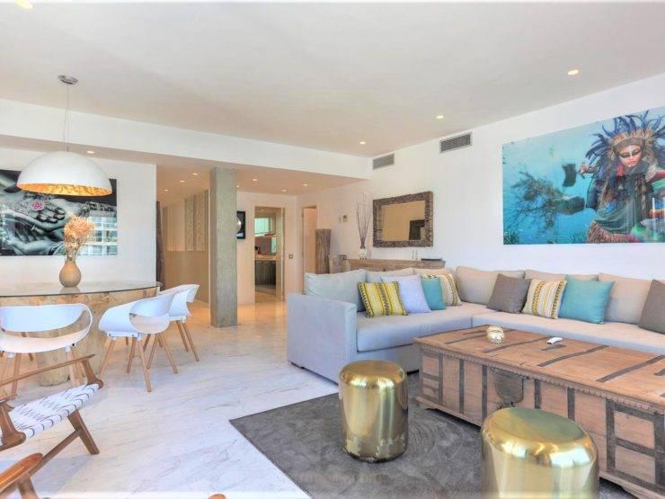 Espectacular Apartamento de Lujo en la Playa de Ibiza d'en Bossa