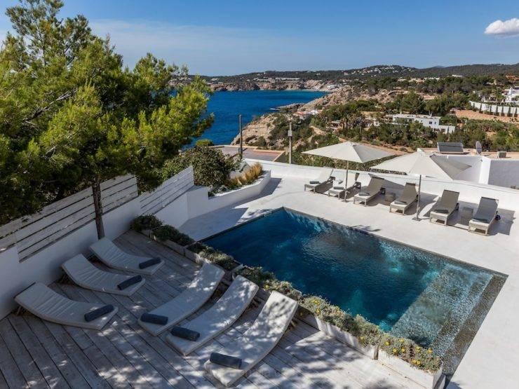 Villa con Impresionantes Vistas al Mar en Cala Moli