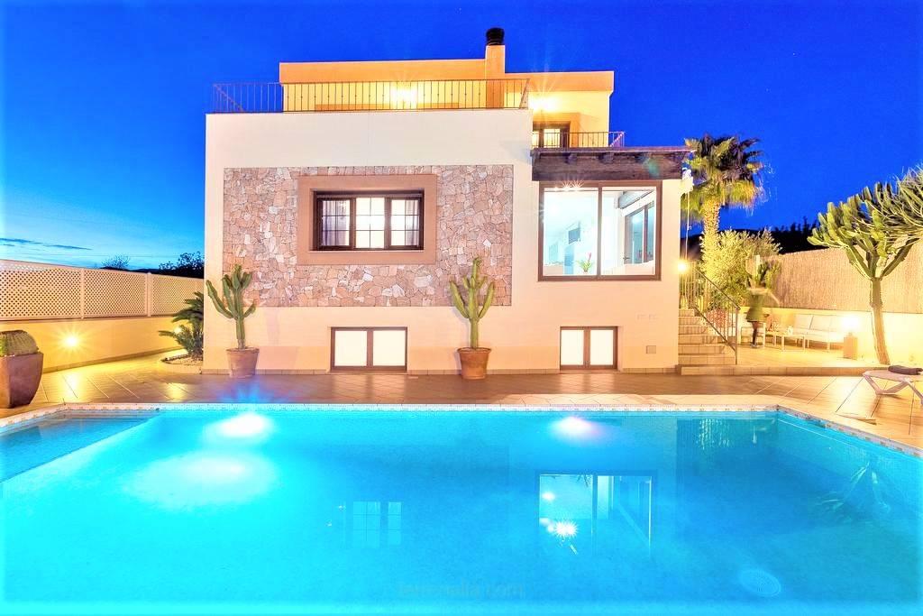 Villa Fibiza in Sa Carroca, in Ibiza.